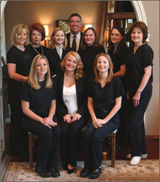 Dr. William Hedden and staff